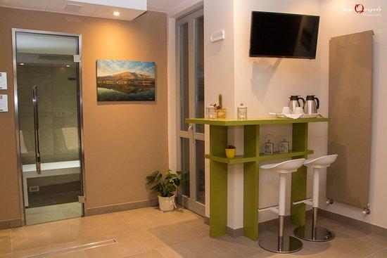 Spa con cabina bagno turco e sauna picture of parini hotel