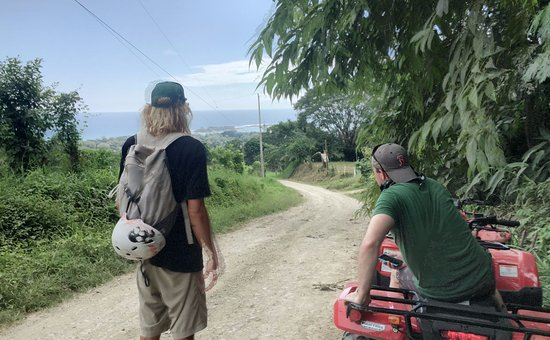 Lucero Surf Retreats: Montezuma on Quads - Trip to the waterfall and historic area sites