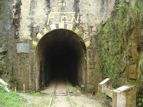 Cisneros, Colombia: Es una de las entradas del tunel