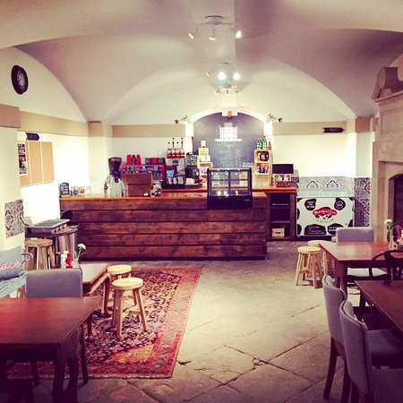 Kings Weston House: New refurbished cafe, December 2016