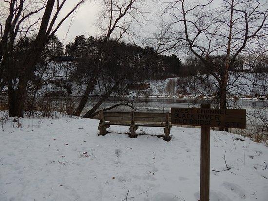 Holmen, WI: Trail end