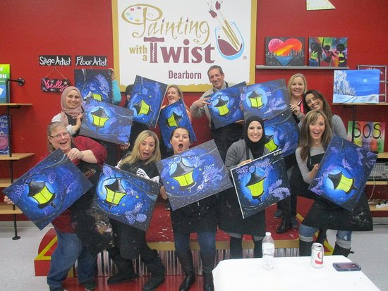 painting with a twist dearborn mi address phone