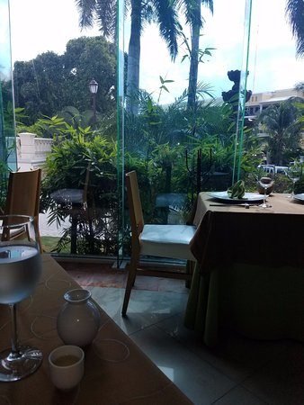 Asiana Restaurant : view from our table at lunch
