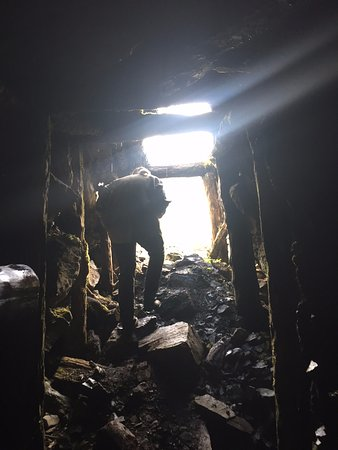 Pemberton, Kanada: Inside the mine (no bears)
