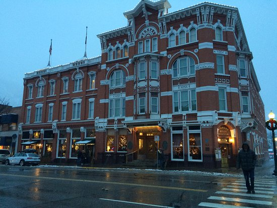 Strater Hotel: Christmas Eve shot before 6 inches of snow fell