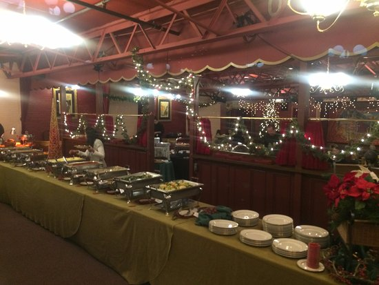 Strater Hotel: Christmas Day Buffet (Just one of a few lines of impeccable foods