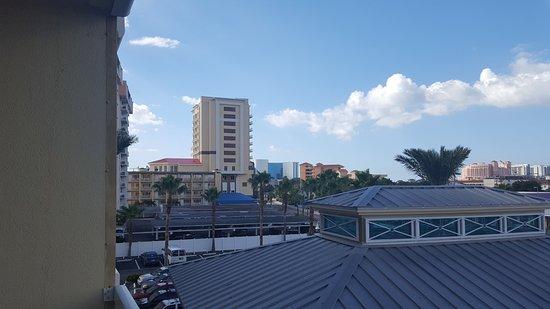 DreamView Beachfront Hotel & Resort: View North from Balcony