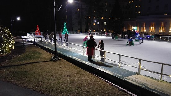 The Greenbrier: skating on thin ice