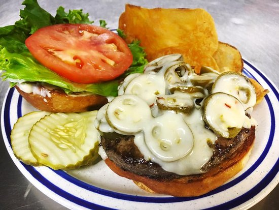 Cadillac, MI: Jalapeno Burger