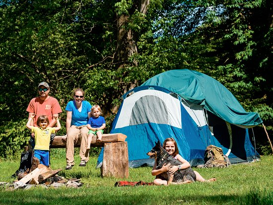 Parsons, Virginie-Occidentale : Camping at Blackwater Outdoor Adventures