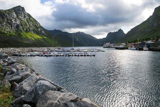 Senja, Norway: Gryllefjiord 03