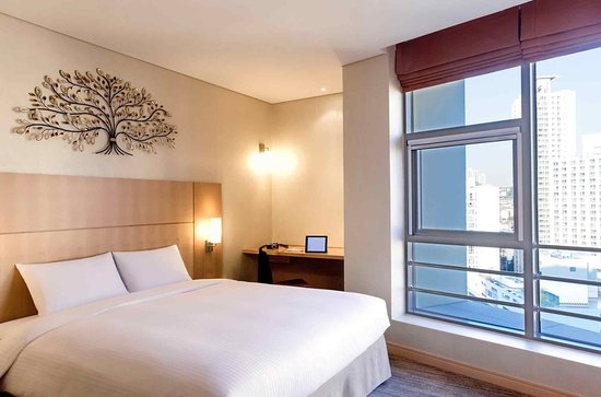 釜山市中心宜必思大使飯店