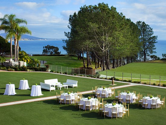 Dana Point, CA: Imagine your wedding or corporate reception here at the Laguna Cliffs Marriott Resort & Spa
