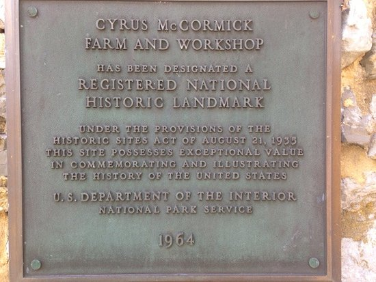 The inventor  - Picture of Cyrus McCormick Museum, Lexington