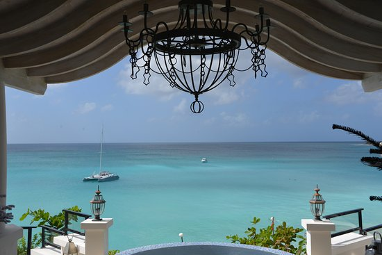 Terres Basses, St. Maarten: View from lobby