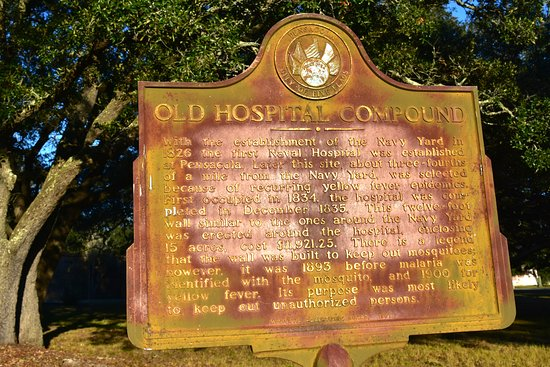Pensacola Naval Air Station: OLD HOSPITAL COMPUND