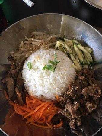 Norwich, CT: Beef bibimbap