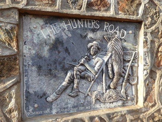 Francistown, Botsuana: placca in bronzo