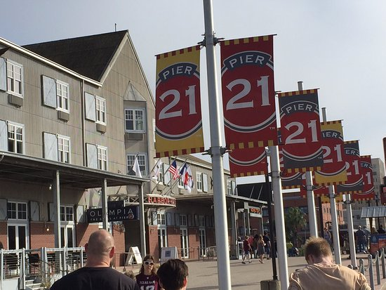 Port of Galveston : Pier 21