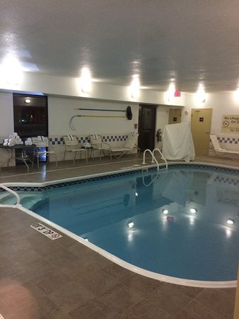 Hampton Inn Akron - Fairlawn : Nice pool area