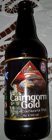 Aviemore, UK: One of the products now empty) of Cairngorm Brewery