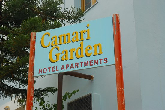 Camari Garden Apartments: Outside