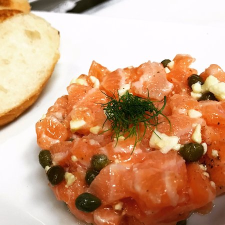 Edwards, CO: Salmon Tartare