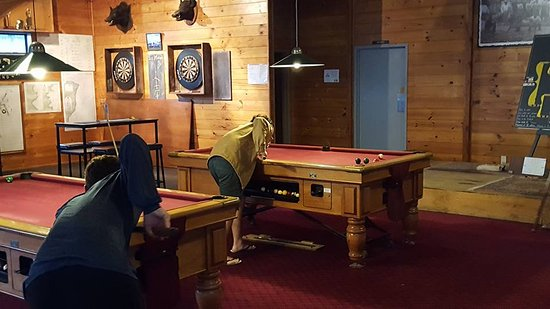 Tokomaru, New Zealand: great entertainment in the tavern such as pool competitions with the locals
