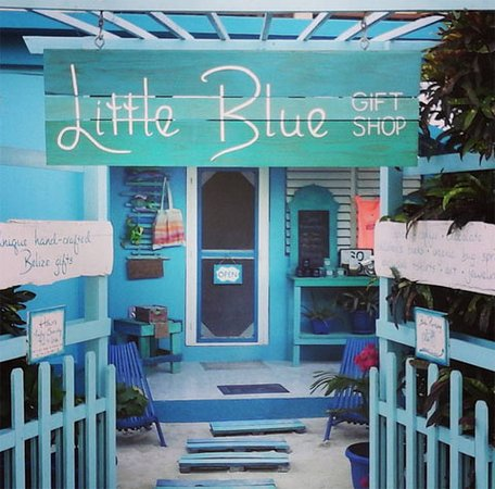 Little Blue Gift Shop