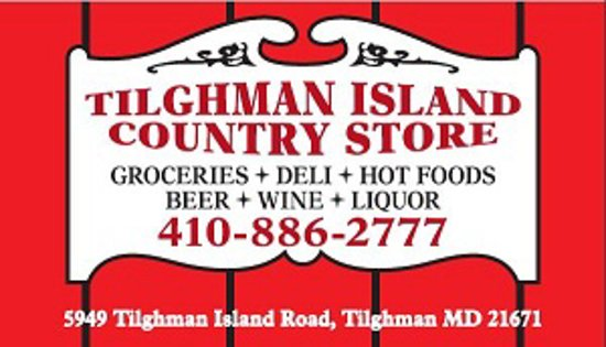 Tilghman Island Country Store sign
