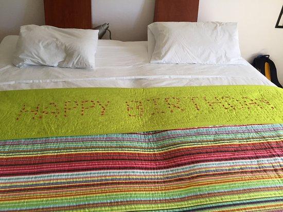 Hotel & Residence Ca'Rita : Ca'Rita surprised us with this on my partner's birthday!