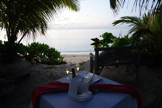 Desroches Island: For our anniversary night!