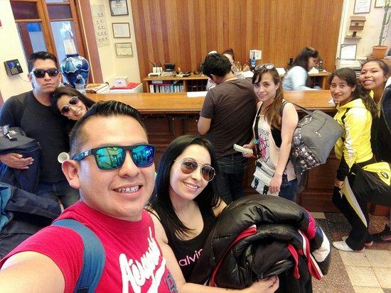 Hotel Gloria Coroico: Lobby