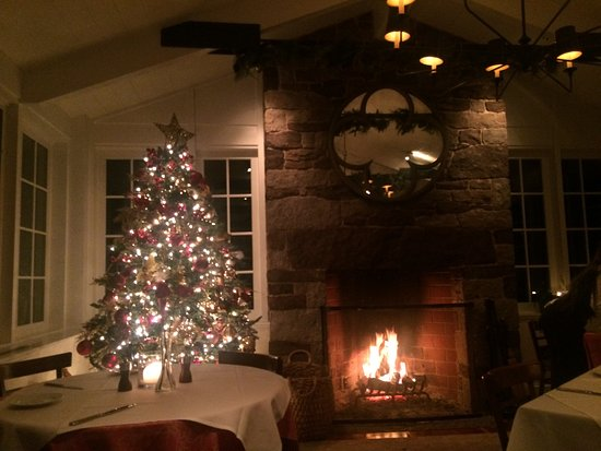 Erwinna, Pensilvania: Christmas Time at The Golden Pheasant Inn