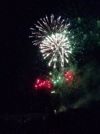 The Ritz-Carlton, Dove Mountain: Fireworks from our room