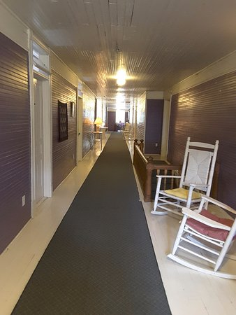 Balsam, NC: Hallway to our room