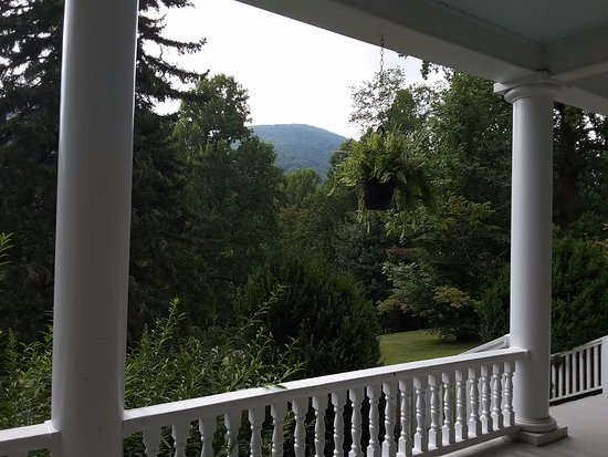 Balsam, Carolina do Norte: View from rocking chair
