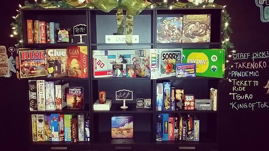 St. Catharines, Καναδάς: Some of the board games currently on site, more weekly!