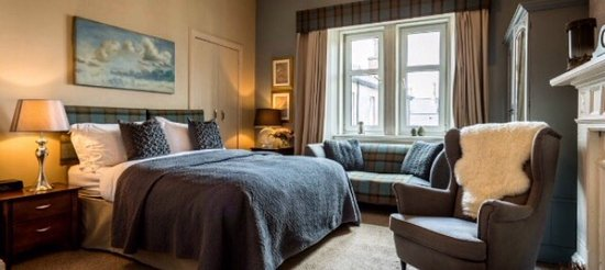 Helensburgh, UK: The Cormorant bedroom @ No.20, King or Twin