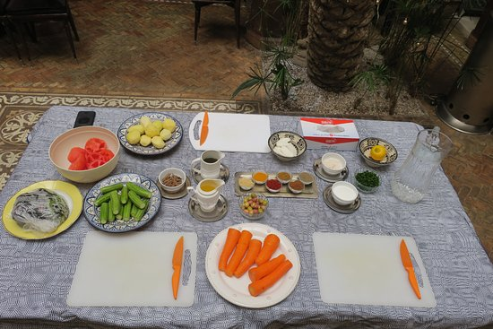 Zamzam Riad: Ready, steady, cook - at Riad Zamzam!