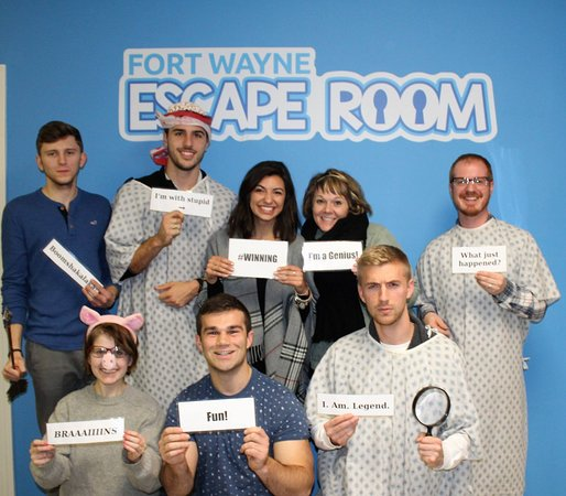 ‪Fort Wayne Escape Room‬