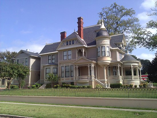 Helena, AR: Another angle of the house in October.