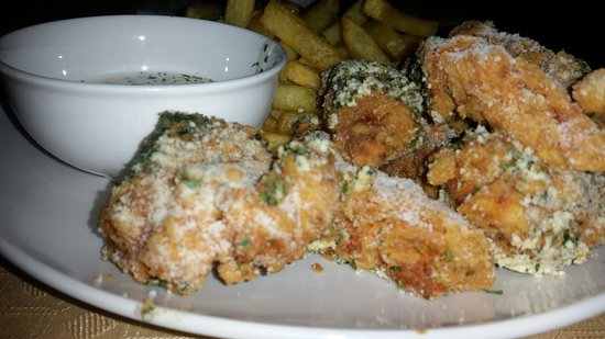 Gracias, Honduras: Garlic & Parmesan Chicken