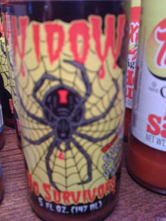 Linden, VA: Black Widow BBQ Sauce