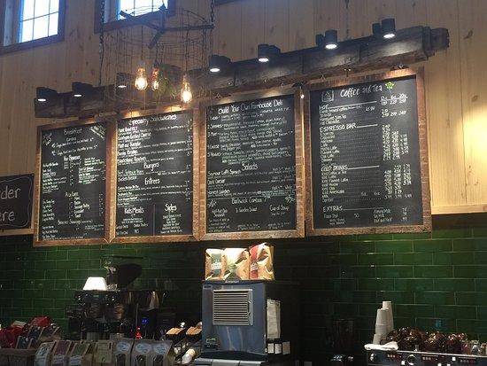 Elbridge, Νέα Υόρκη: menu
