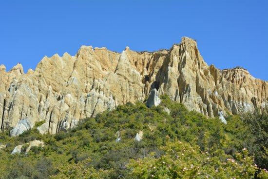 Omarama, Nouvelle-Zélande : Clay Cliffs