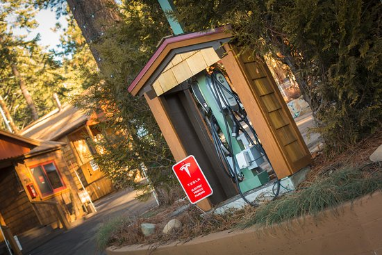 Tahoe Vista, CA: Eco-Friendly Practices, Tesla and Universal Charging Station