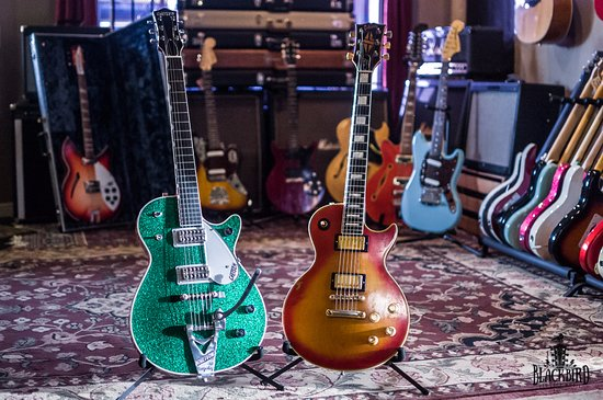 Orlando, FL: Gibson and Gretsch guitars too!