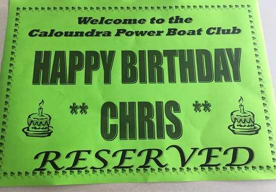 Caloundra Power Boat Club: The staff were friendly and helpful. They even sang me happy birthday! A fresh breeze kept us co