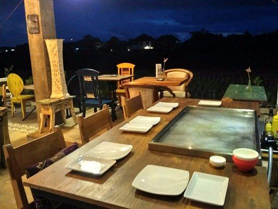 Hibachi Table Picture Of Mama Canggu Suckling Pig Canggu - Hibachi table restaurant